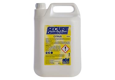 Secure Disinfectant citrus 5lt